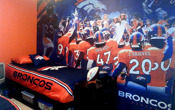 Broncos Wall