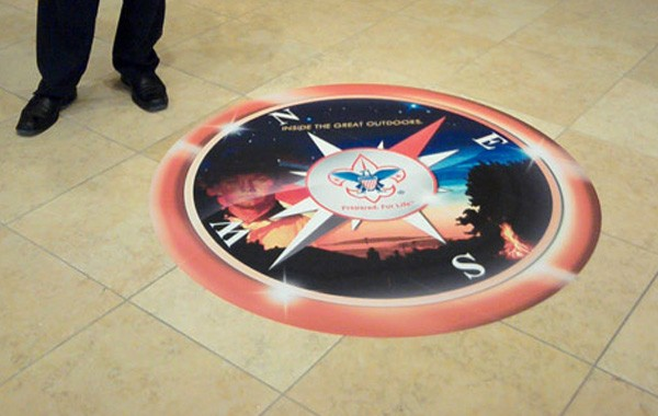 Boy Scouts Floor Graphic
