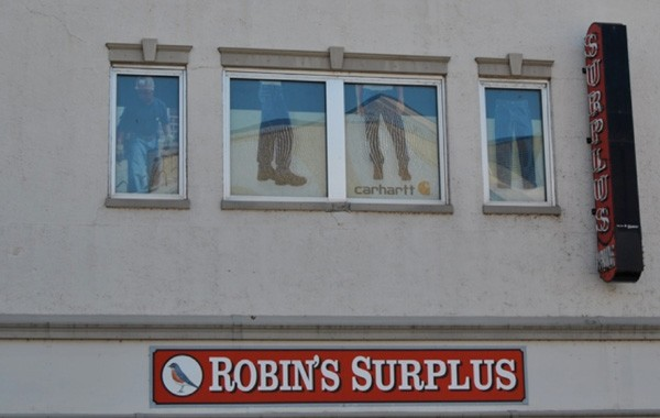 Robin's Surplus Window