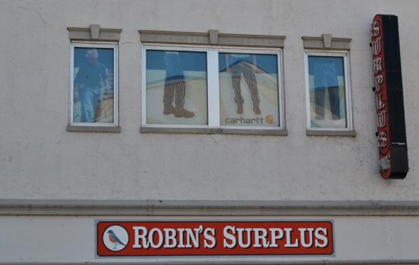 Robin's Surplus Window