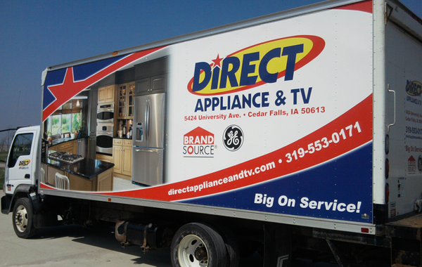 Direct Appliance Truck