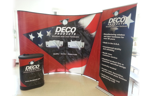 Deco Products Trade Show Booth
