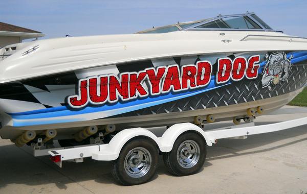 Junkyard Dog Boat