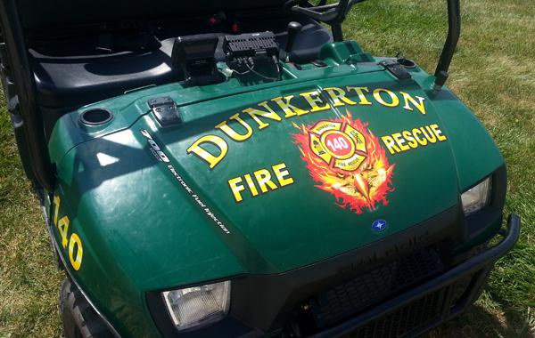 Dunkerton Fire Hood