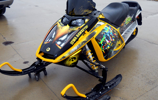 Hawkeye Snowmobile