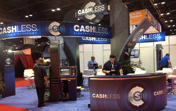 Cashless Tradeshow Booth